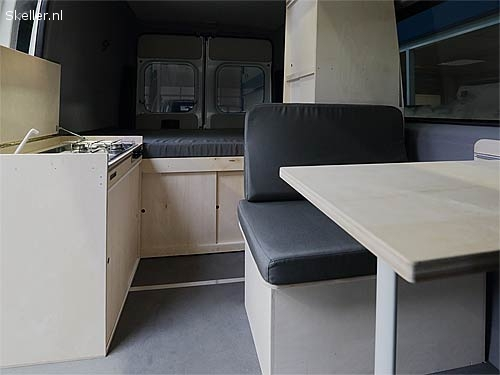Advertenties - Bus campers - camper interieur Fiat Ducato
